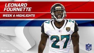 Leonard Fournette's Fantastic Day w/ 130 Yards & 1 TD!   Rams vs. Jaguars   Wk 6 Player Highlights