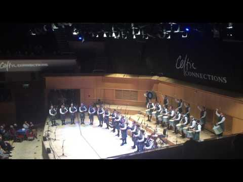 Inveraray & District Pipe Band - Jigs - Celtic Connections 2017