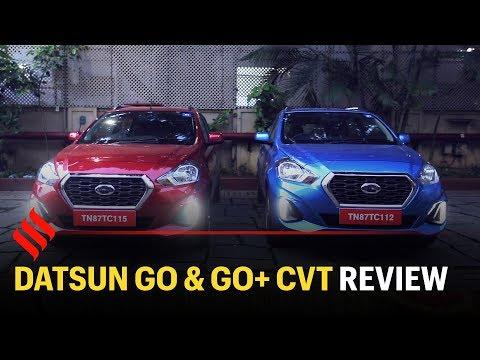 Datsun Go and Go+ CVT review: Premium alternatives to AMT in a budget segment