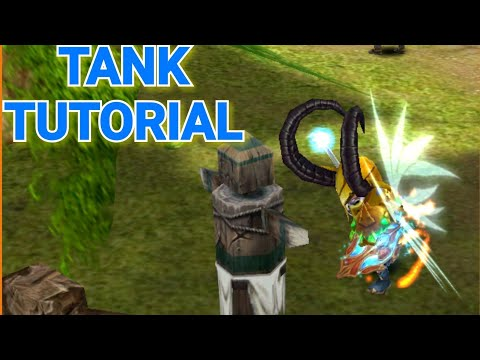 ORDER AND CHAOS - TANK GEM, SKILLTREE AND DAMAGE SECRET TUTORIAL