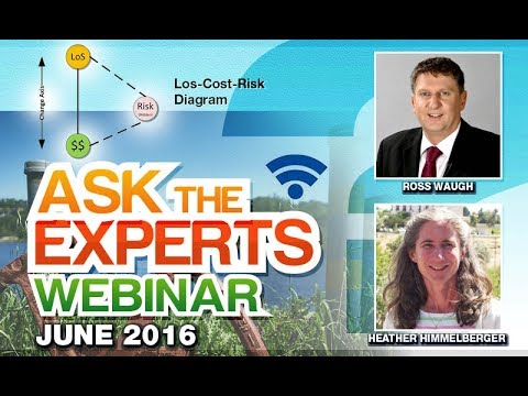 Levels of Service-Cost-Risk and Asset Management Plan - Ask the Expert June 2016 Webinar