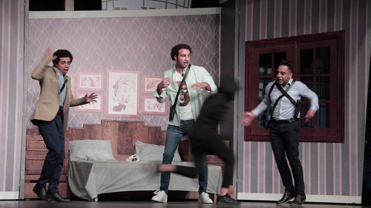 """النجم علي ربيع و النجم اوس اوس يجتمعان في  مسرحية """"صباحية مباركة"""" 👰🏼🤵🏻،  إخراج اشرف عبد الباقي"""