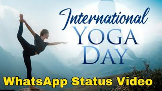 International Yoga day WhatsApp status | wishes | quotes | Yogaday | Happy yoga day 2020 Theme