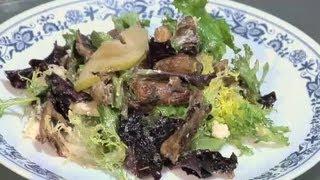 Teriyaki Mushroom Pear Salad : Mushroom Recipes & More