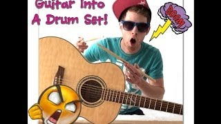 Download HOW TO MAKE YOUR GUITAR SOUND LIKE A DRUM SET! MP3 song and Music Video