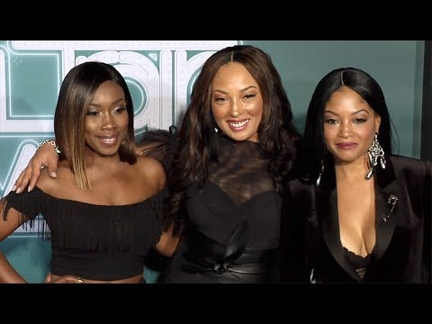702 (Kameelah, LeMisha, Irish) 2017 Soul Train Awards Arrivals