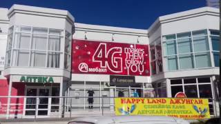 Живая реклама Краснодар(Вывеска из пайеток - новое в наружной рекламе ООО