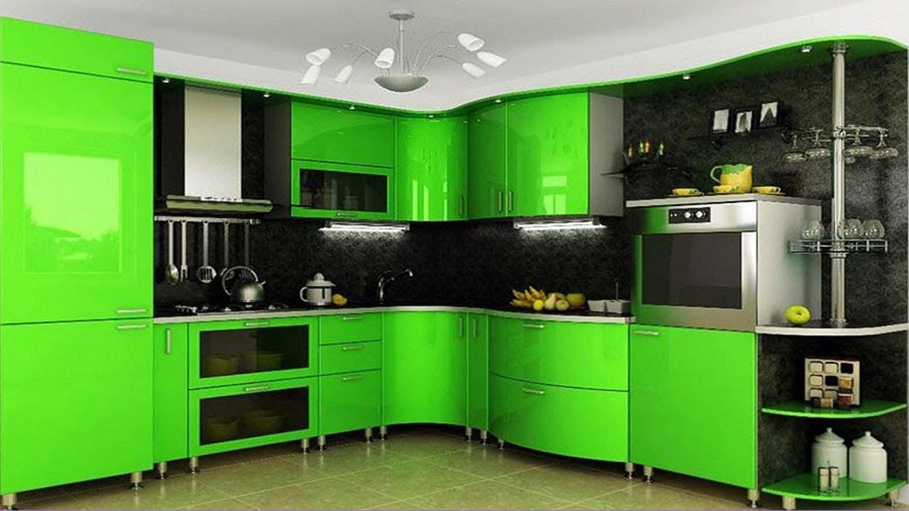 Фото кухонь зеленого цвета