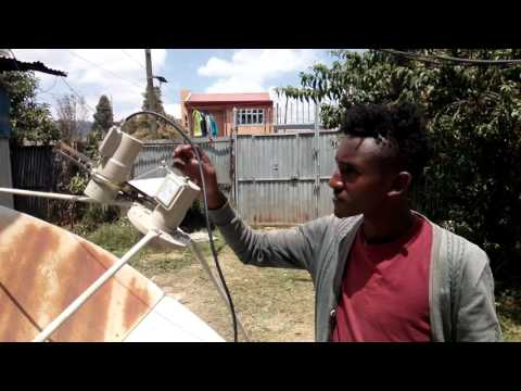 Ethiopian dish by sami JR    Apstar 76 & Intelsat 68 Sony package withn. Apl. discovery package
