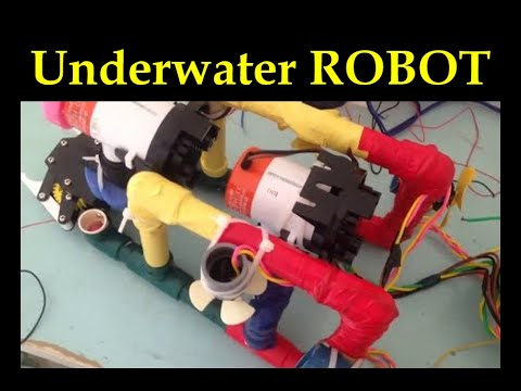 Underwater robot for navigation and photography