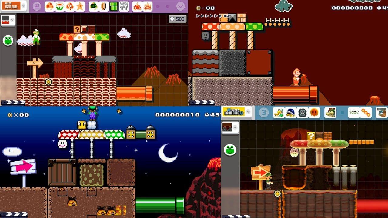 Volcano Theme Pack » Mario Making Mods