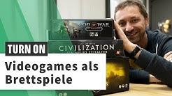 God of War, Dark Souls & Co.: Brettspiele, die auf Videogames basieren