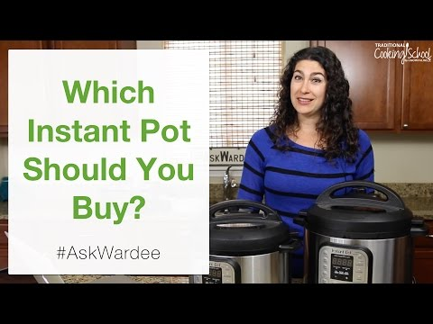 Which Instant Pot Should You Buy? | #AskWardee 048