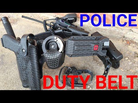 Modern Police Duty Belt