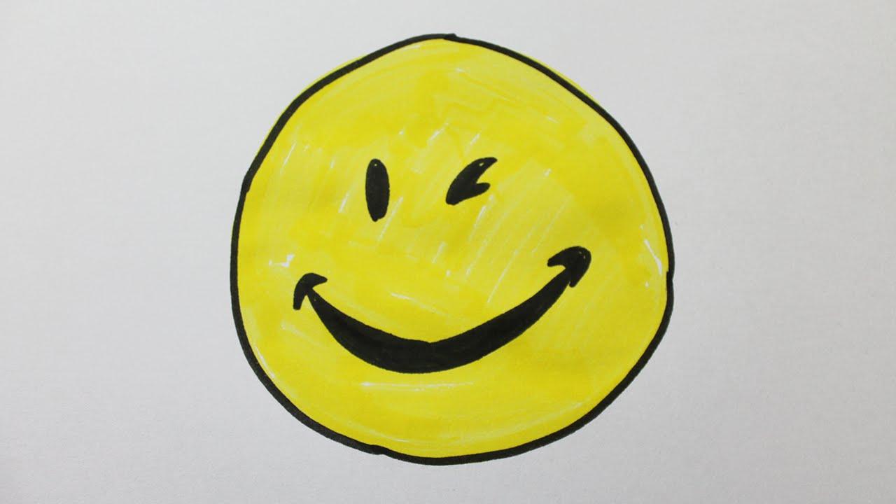 Comment dessiner un smiley youtube - Smiley a dessiner ...