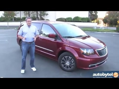 2014 chrysler town country s minivan review youtube. Black Bedroom Furniture Sets. Home Design Ideas