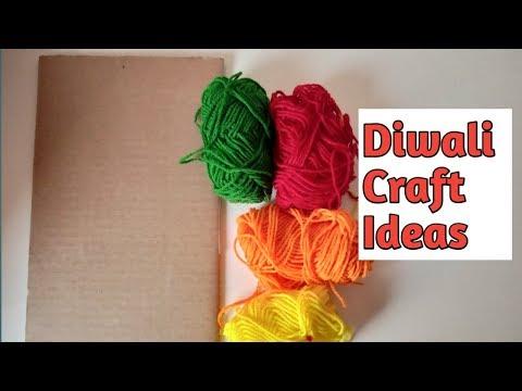 Diwali Special | दिवाली की सजावट | Diy Diwali Decoration | Diwali Craft Ideas