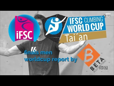 IFSC Boulder Worldcup 2018 // Tai´an Men Final Report Highlights