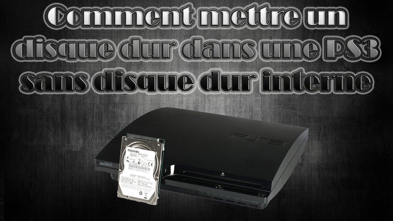 tuto fr hd comment mettre un disque dur dans une ps3 ultra slim sans disque dur interne. Black Bedroom Furniture Sets. Home Design Ideas
