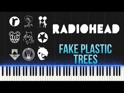 Radiohead - Fake Plastic Trees (Piano Tutorial Synthesia)