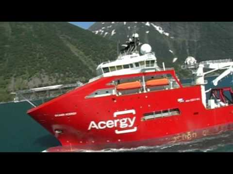New Ship SKANDI ACERGY. 157 LOA offshore vessel !
