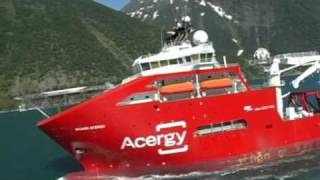 New Ship SKANDI ACERGY. 157 LOA offshore vessel !