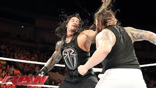Randy Orton joins forces with Dean Ambrose and Roman Reigns: Raw, Sept. 21, 2015 thumbnail