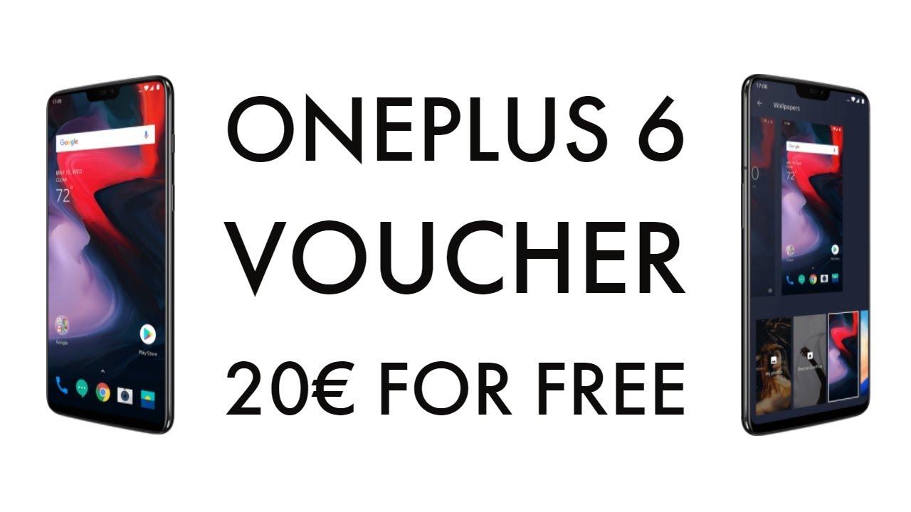 20€ Promo Code / Voucher - OnePlus 6