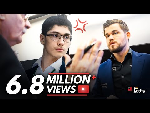 The Big Controversy In The Game Of Magnus Carlsen And Alireza Firouzja At The World Blitz 2019