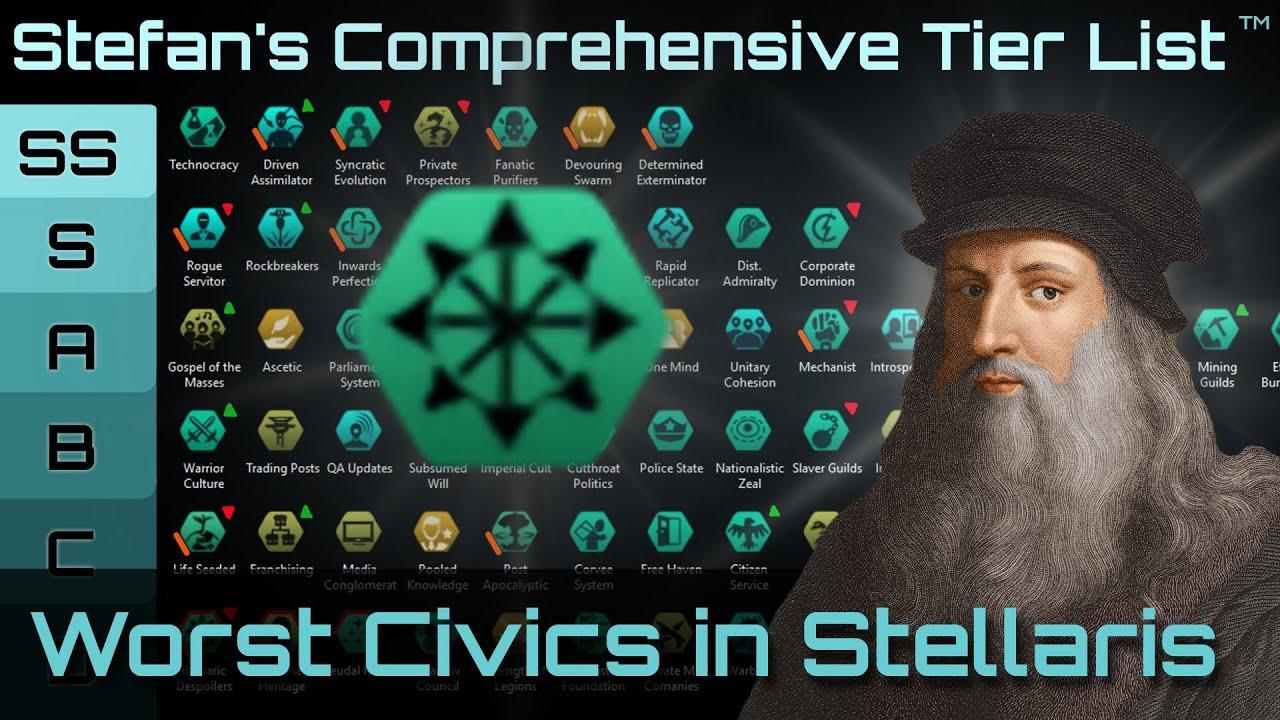 Bad Civic Re-balance (Warning, Long) - Stellaris Games Guide
