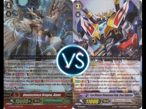 Vanguard TH Great Nature G VS Dimension Police Daikaiser (GN SPEED Combo)