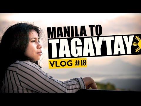 Manila to Tagaytay   Philippines