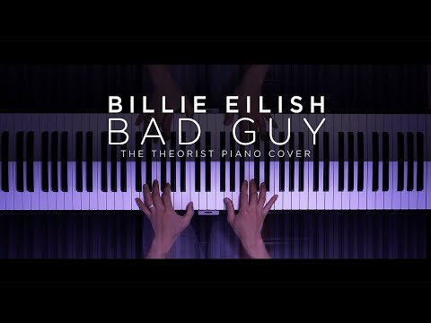 Billie Eilish - bad guy  The Theorist Piano Cover