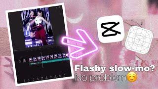 💕How to make a flashy slow-mo edit on CapCut!💕 | tutorial for IOS screenshot 1