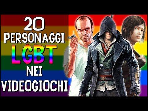 20 PERSONAGGI LGBT NEI VIDEOGIOCHI