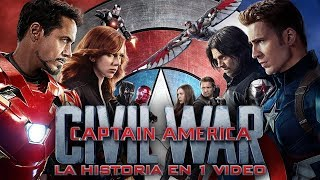 Capitán America: Civil War I La Historia en 1 Video