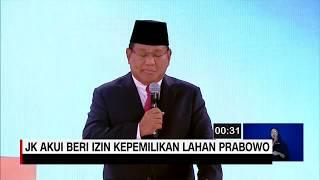 Menyoal Izin Kepemilikan Lahan Prabowo di Debat Capres Kedua