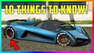 10 Things You NEED To Know Before You Buy The Principe Deveste Eight Super Car In GTA Online!