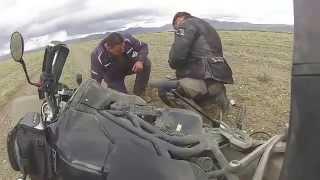 путешествие по Монголии на мотоциклах - 2014