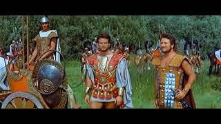 Троянская война (1961). Сражение между греками и троянцами