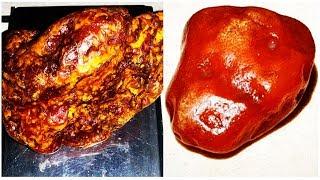 натуральные камни - Янтарь До и После Обработки Какие Бывают Камни Янтаря. uMinerals