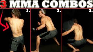 3 Advanced MMA Combos | Pro Striking Combinations