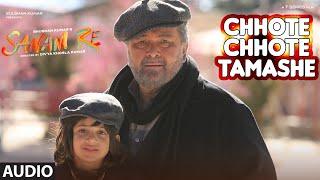 Chhote Chhote Tamashe Full Song (Audio) | SANAM RE | Pulkit Samrat, Yami Gautam, Divya khosla Kumar