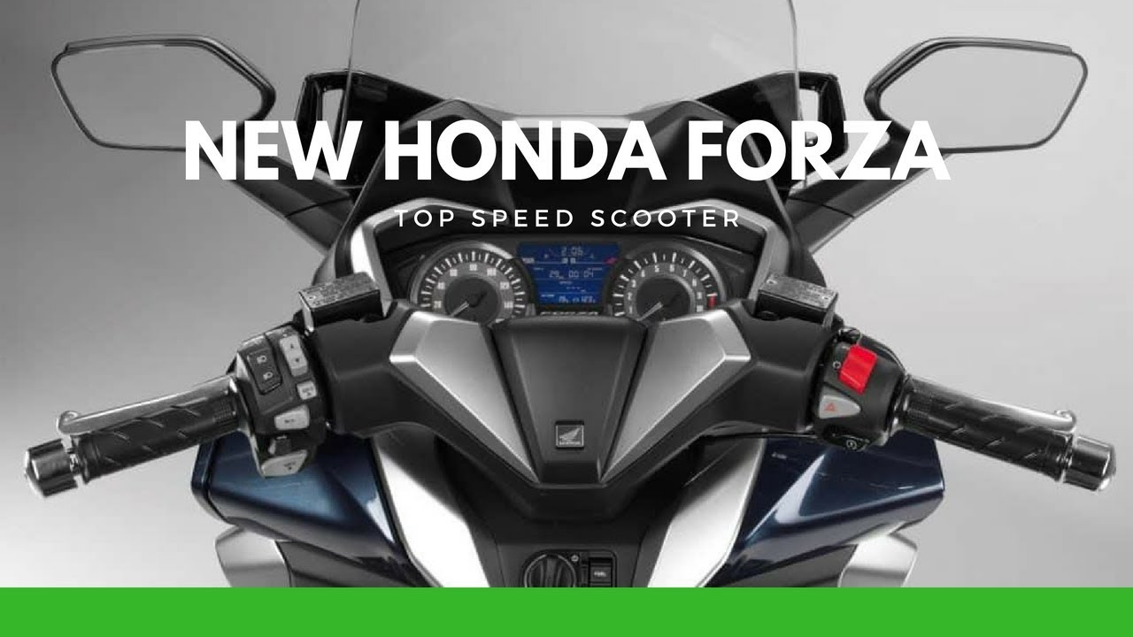 2019 Honda Forza Review Youtube