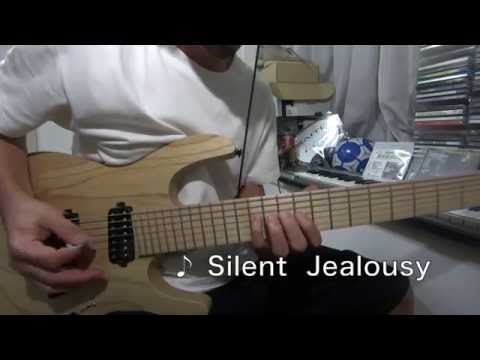 X Japan - Silent Jealousy Guitar Solo Cover