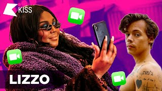 """Lizzo shares details on her """"Collab"""" with Harry Styles! 👀😂"""