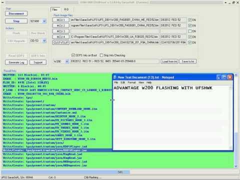 logiciel pour flasher sony ericsson w580i
