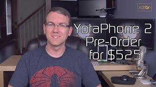 YotaPhone 2 Pre-Order for $525, Xperia Z1 Price Cut, Android Wear 5.1.1 OTA Downloads
