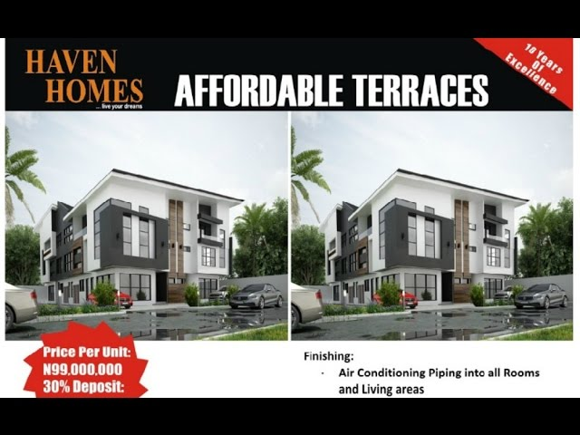 Haven Homes New Luxury Apartments Lekki Youtube