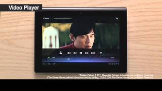 NEW Sony Tablet S: Music and Video Player MUST SEE!!(Introducing the new Tablet S from Sony. This video highlights the unique Music and Video players featured in the Sony Tablet S., 2011-08-31T15:35:32.000Z)